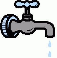 Un disegno di un tipico rubinetto che gocciola fastidisamente