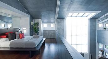 Soppalco in stile moderno