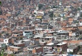 Una panoramica su un'area abitativa