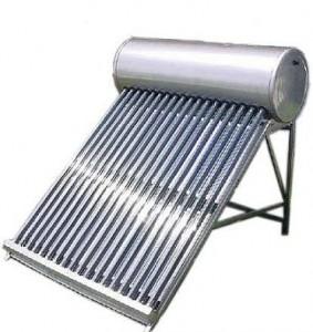 Un impianto solare termico