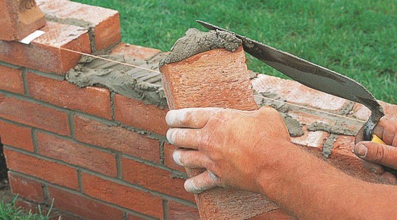 Muro con mattoni