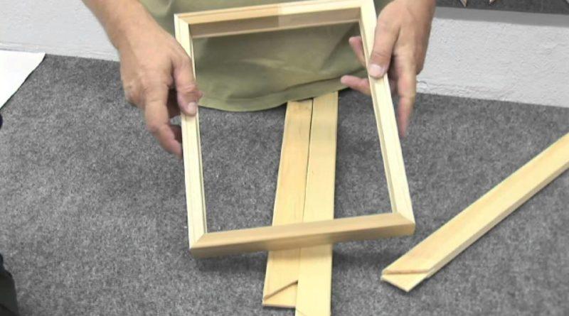 Costruire cornice di un quadro